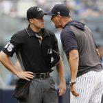 《MLB》粗口狂噴主審 洋基總教練布恩遭禁賽