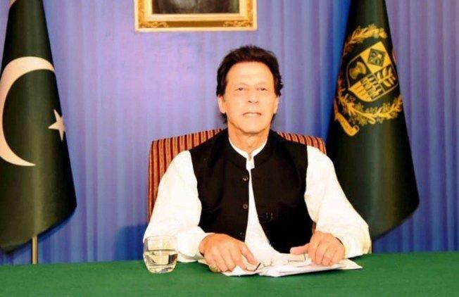 巴基斯坦新任總理伊姆蘭汗(Imran Khan)。 路透
