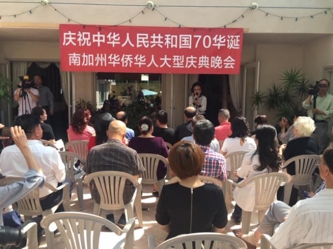「中國情」慶祝中華人民共和國70華誕南加華僑華人大型慶典晚會20日舉行首次大型籌備會議。(記者楊青/攝影)