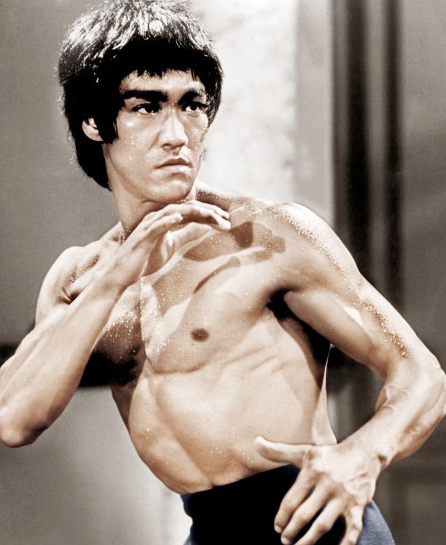 李小龍逝世滿46周年,仍是影迷心中的英雄象徵。圖/達志影像