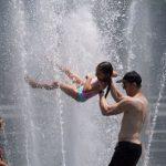 〈圖輯〉 美國熱死人 高溫奪6命  熱浪撲1.5億人