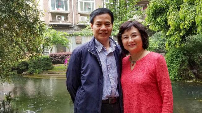 李曉江、李世華夫婦。(取自Science網站,李世華提供)