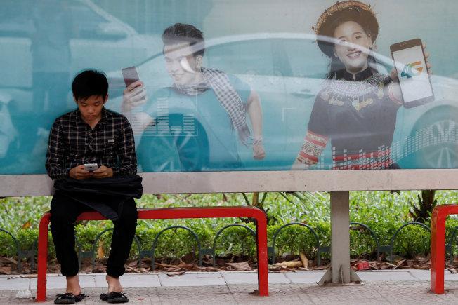 越南電信(Viettel)的4G網路未使用華為設備,5G計畫也可能排除華為。(路透資料照片)