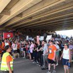 逮捕移民兒童 奧州軍事基地聚抗議者