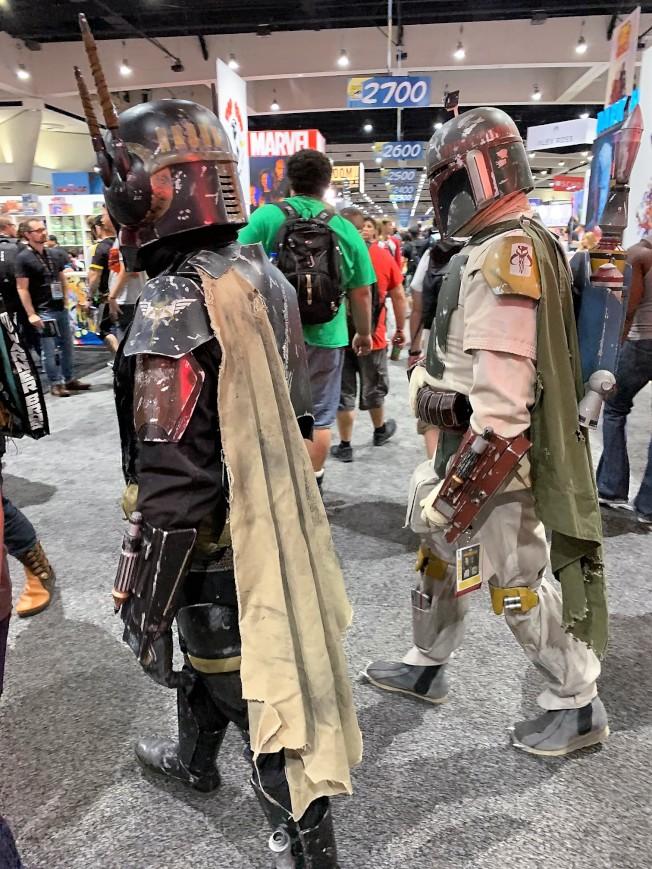 cosplay星戰角色在漫展上最多見。(記者馬雲/攝影)