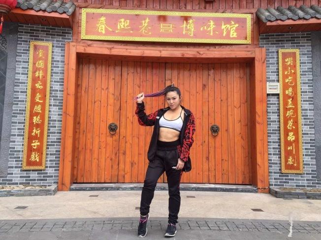何奕萱將在8月繼續亞洲巡迴賽事。(何奕萱提供)
