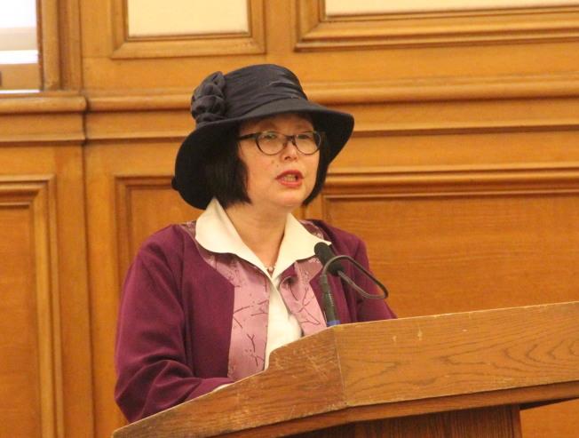 日本裔的舊金山女性地位局局長江美利。(本報檔案照片)