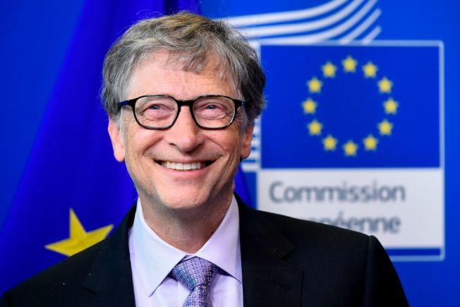 比爾蓋茲透過慈善基金會長年推動消滅瘧疾的公益活動。(Getty Images)