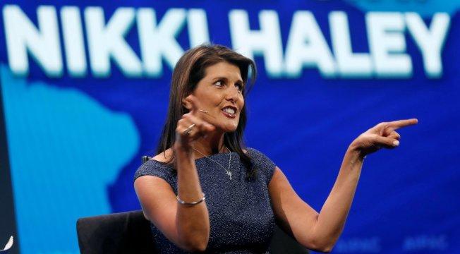 美國駐聯合國前任大使海理。路透