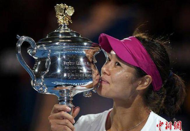進入國際網球名人堂,李娜又改寫了歷史。(取材自中新網 )