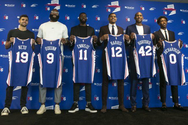 《NBA》七六人組全新陣容 哈里斯信心爆棚:東區最強