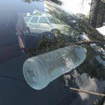 高溫天瓶裝水放車內 易引火災
