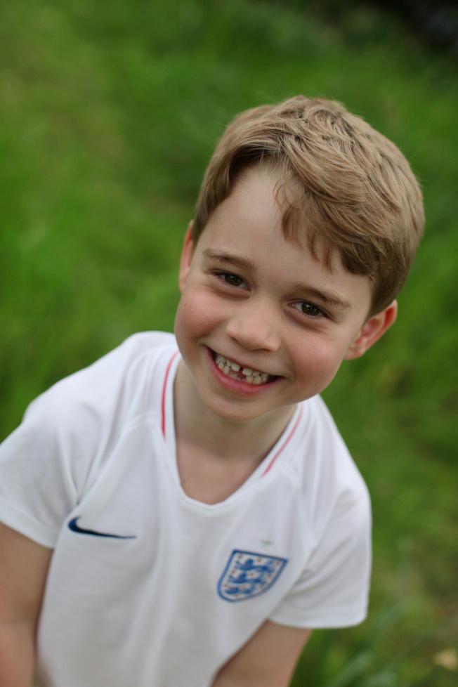 喬治將歡慶6歲生日。(路透)