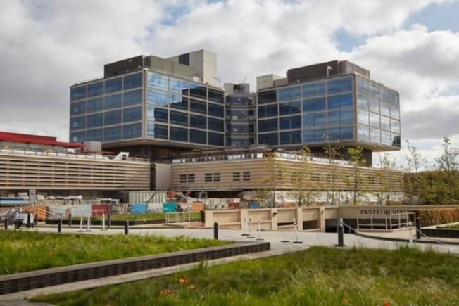 位於巴洛阿圖的史丹福醫院新大樓10月開始營運。(史丹福醫療中心提供)