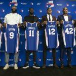 《NBA》七六人新陣容「東區第一」哈里斯再誇安比德:最強中鋒