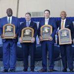 《MLB》洋基四核心合體!李維拉名人堂進駐儀式超感人