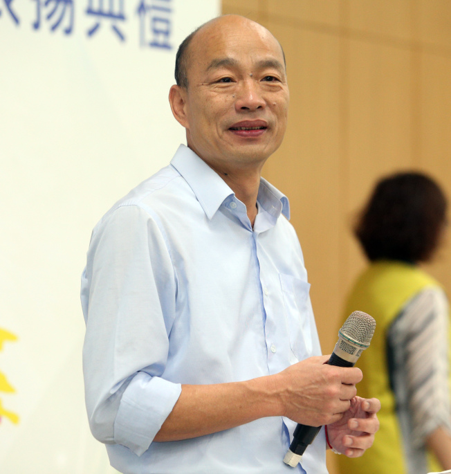高雄市長韓國瑜將再度訪美,這次會更充分做好準備。(本報資料照片)