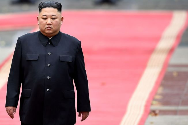 北韓領導人金正恩。圖╱GettyImages