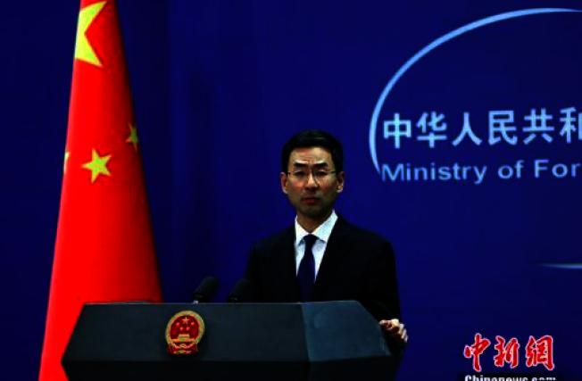 針對美國成立宗教自由聯盟,中國外交部發言人耿爽表示,奉勸美國不要再干涉他國內政,也不要試圖再扮演什麼「世界警察」。(中新網)