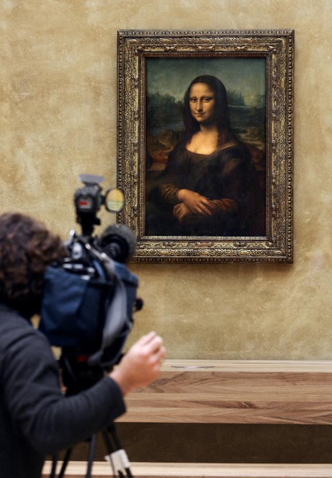 達文西最知名的曠世巨作「蒙娜麗莎」。(Getty Images)
