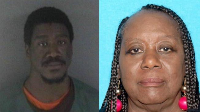 警方認為,71歲的屋崙居民波克(右)已遭其孫華盛頓(左)殺害。(屋崙警方提供)