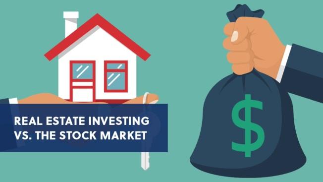 調查顯示,美國人的長期投資偏愛不動產,股市遠遠落後位居第二。(取自YouTube)
