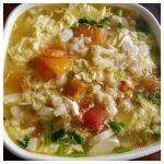 料理功夫|番茄雞蛋豆腐疙瘩湯