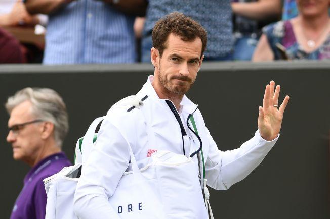 前世界球王「英國希望」穆雷(Andy Murray)。Getty Images