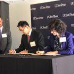 楊信再捐150萬 助UCSD台灣留學生