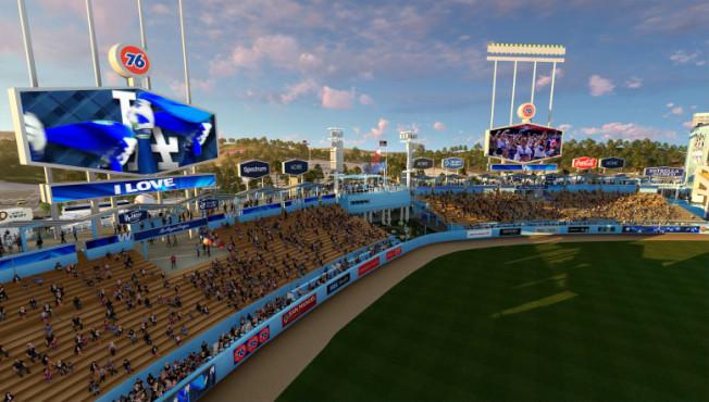 道奇棒球場將提供環形走道,讓粉絲「繞場一周」。(洛杉磯棒球場提供)