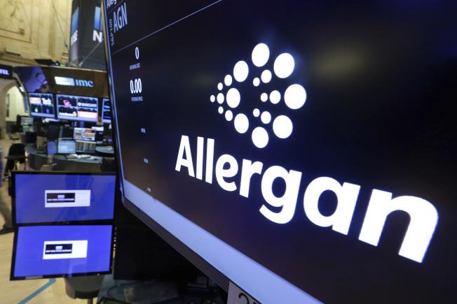 食藥局下令收回市面上愛力根(Allergan)製造生產的隆乳填充物。(美聯社)