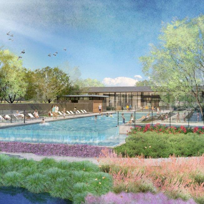 香港企業Risland Holdings將在達拉斯北郊的丹頓郡(Denton)與葛雷森郡(Grayson)興建包括游泳池、健身俱樂部、瑜伽草坪、咖啡店等設施的住宅區。(Risland官網)
