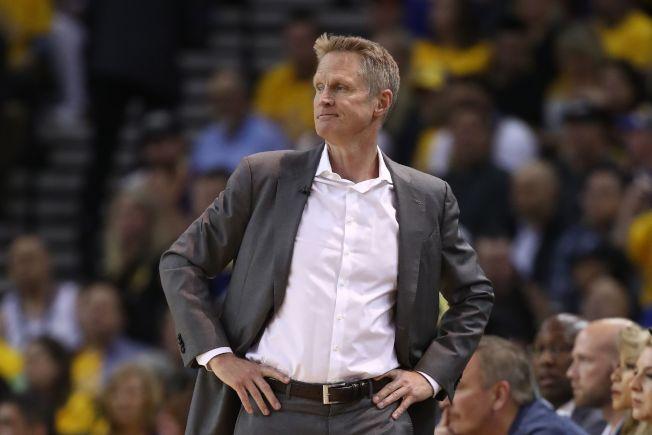 勇士總教練柯爾認為戴維斯的交易案對聯盟來說並非好事。(Getty Images)