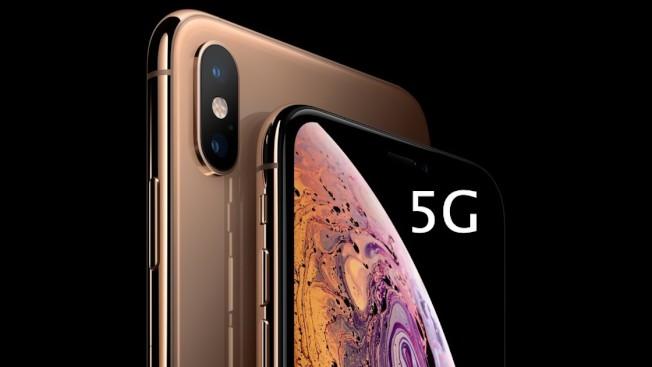 市場傳言,蘋果最快要到明年下半年,才會推出5G的iPhone。(Getty Images)