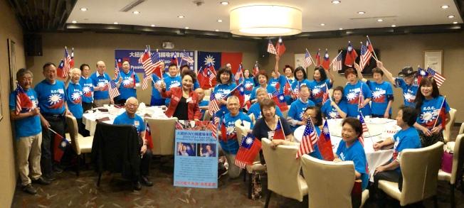 「大紐約韓國瑜後援會」呼籲僑胞明年1月回台灣為韓國瑜投票。(記者朱蕾/攝影)