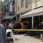 出租車衝進曼哈頓餐館 路過華男被撞斷腿骨
