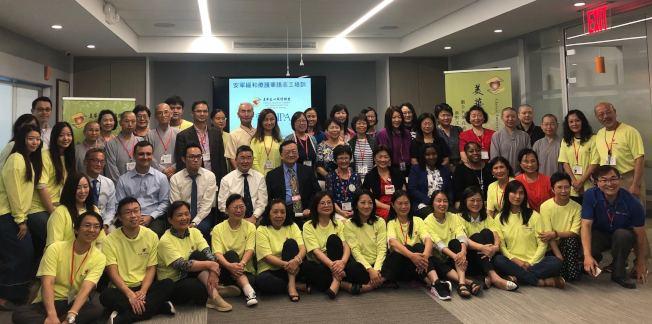 39位第六屆安寧緩和療護華語志工培訓30日結業,日後將在各領域對病重者進行臨終關懷。(主辦方提供)