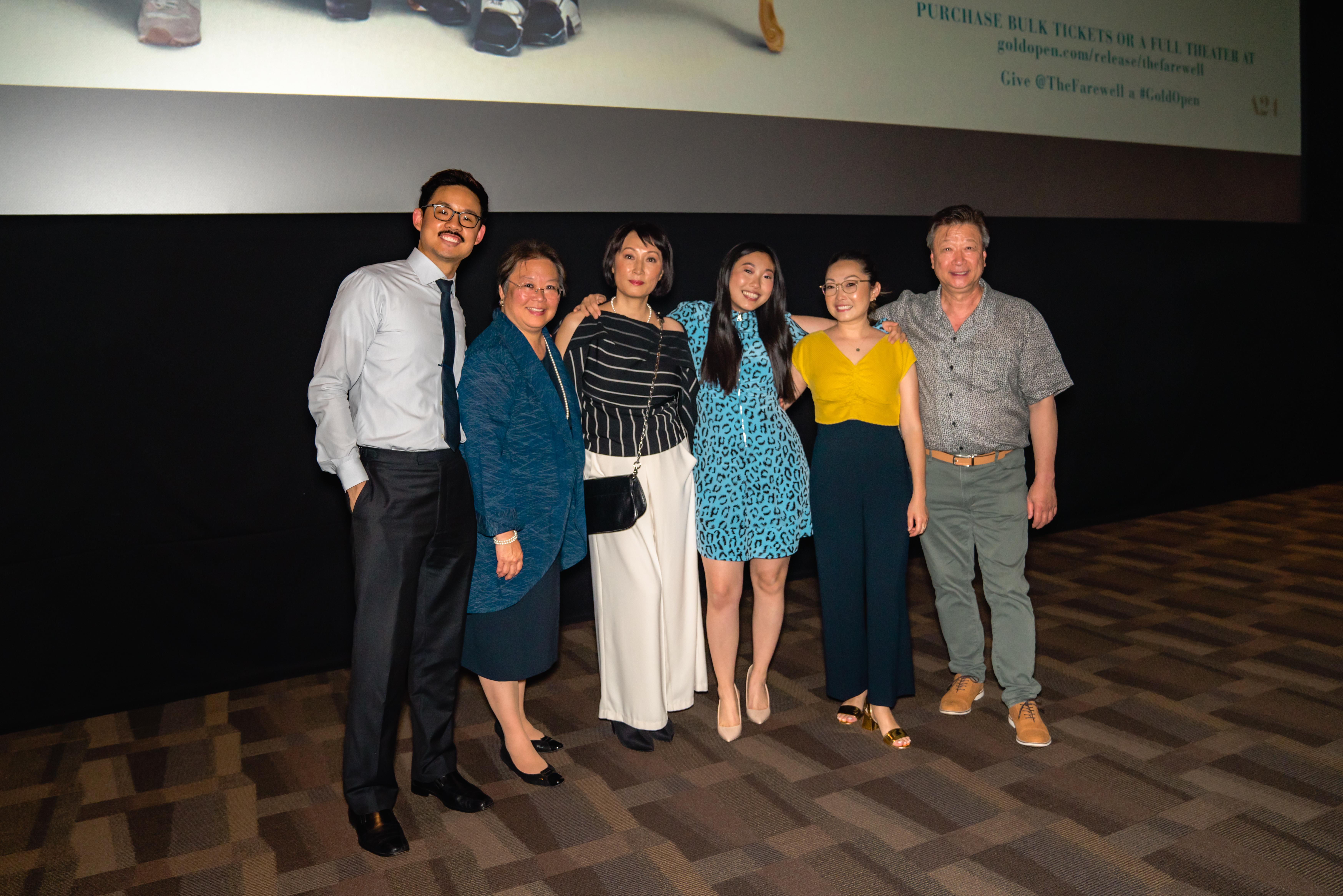 主創人員出席電影放映活動。(AARP提供)