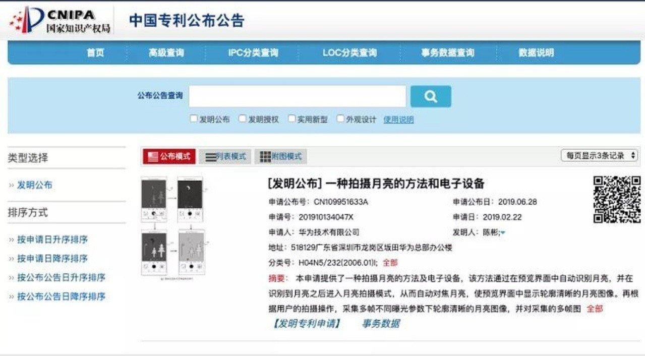圖/大陸國家智慧財產權局官網