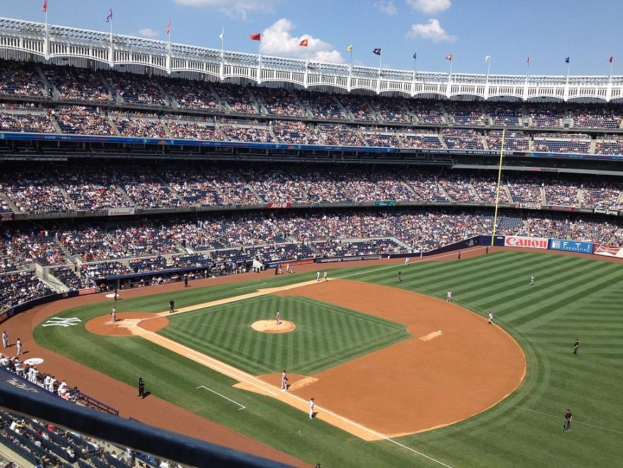 大學棒球是進入美國職棒的踏門磚。(王若馨/攝影)