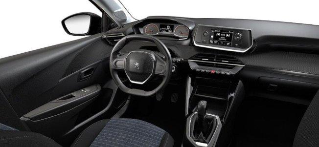 Peugeot 208 Like內裝。(Peugeot)