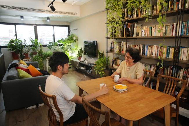 打造舒適居家,也能促進子女和長輩互相了解。(記者吳思萍/攝影)
