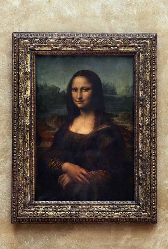 《蒙娜麗莎的微笑》被認為是達文西的經典之作。(Getty Images)