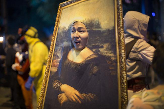 《蒙娜麗莎的微笑》已是流行文化的一部分。(Getty Images)