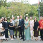 鐵馬金山電影團隊拜訪尹氏莊園