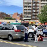 法拉盛緬街橫穿馬路 華裔女子被撞傷