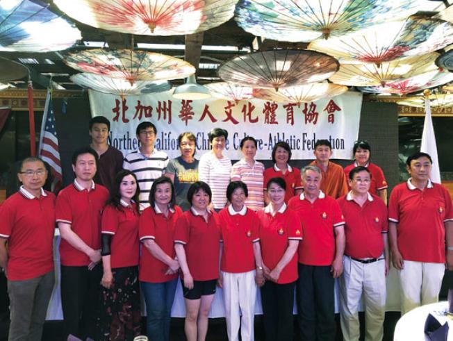 華體會舉辦聯合運動大會,以「握手未來、共濟共贏」為題,盼有更多新血加入。(記者林亞歆/攝影)