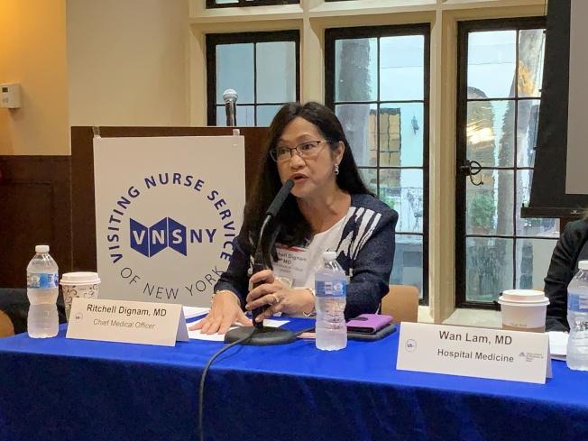 探訪護士臨終關懷服務首席醫療總監狄格楠表示,使用臨終關懷服務的亞裔人數較少。