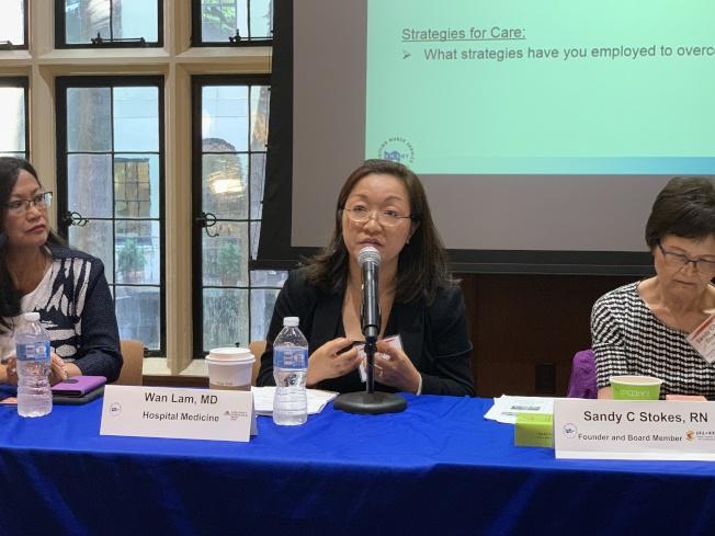 林韻寧表示,為父母找臨終照護的子女會被認為不孝,也是導致華裔較少使用臨終照護的原因之一。