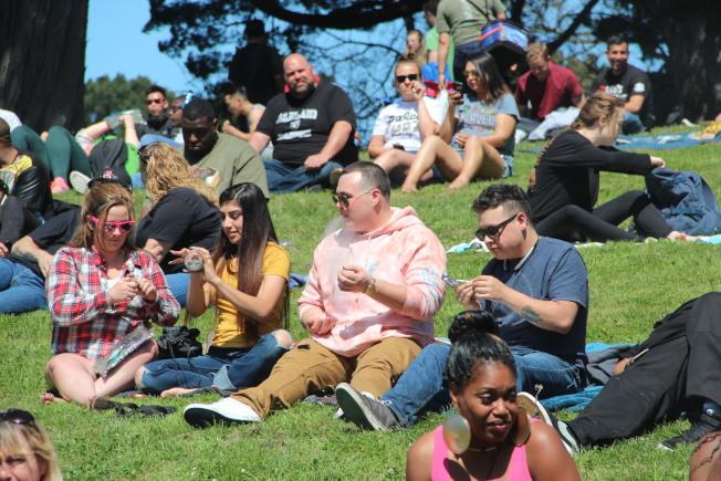 金門公園一直是舊金山大型公眾活動的舉辦場地,園內如何維安也成為熱門話題。(本報檔案照片)